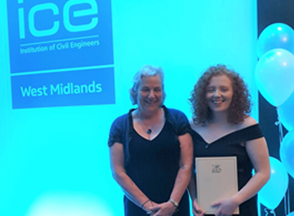 A Solihull student is celebrating after winning an ICE Technician Award.